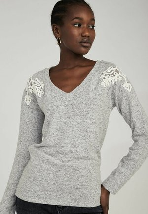 Long sleeved top - grey