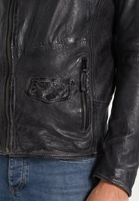 Freaky Nation - SWAGGER - Leather jacket - black - 6