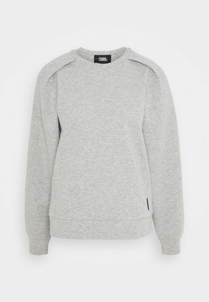 VOLUME SLEEVES - Sweatshirt - grey melange