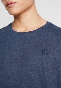 TOM TAILOR DENIM - 2 PACK - T-shirt - bas - agate stone/blue melange - 3