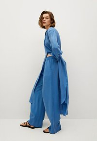 Mango - Trousers - blå - 2