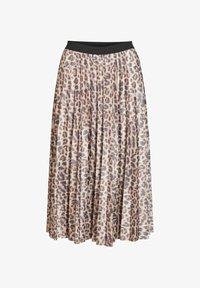 Vila - Pleated skirt - motld beige - 4