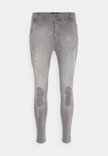 RIPPED RIOT - Jeans Skinny Fit - washed grey