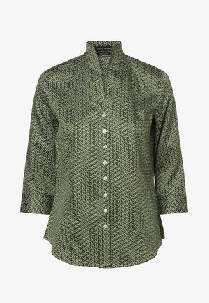 Button-down blouse - erbse