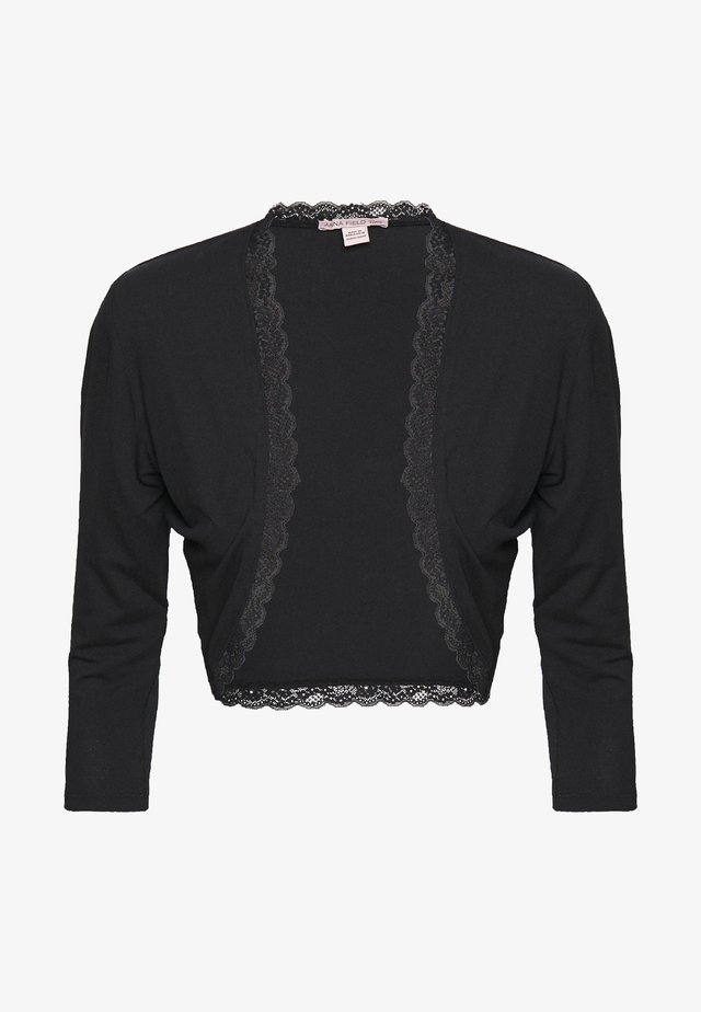 BASIC BOLERO - Cardigan - black