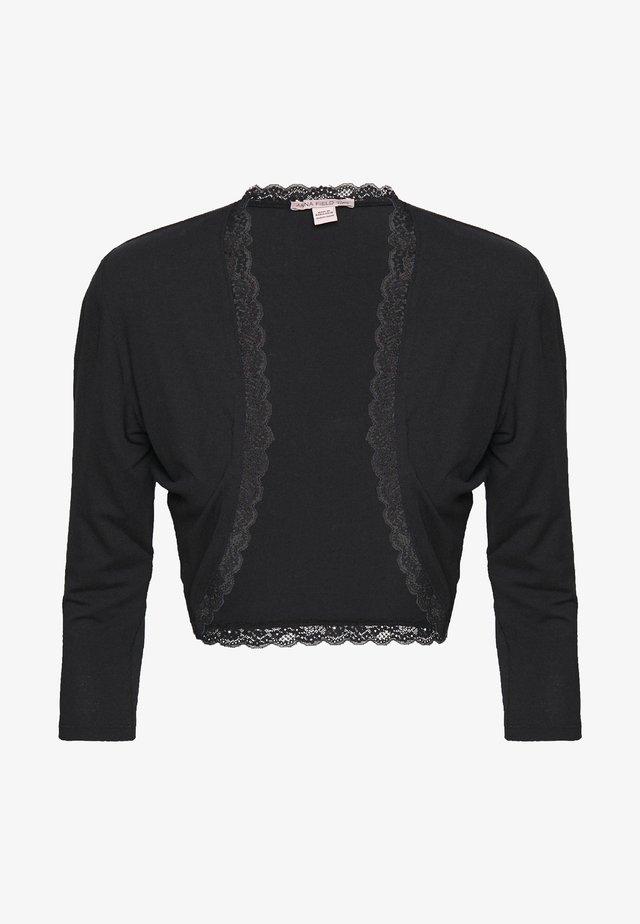 BASIC BOLERO - Vest - black