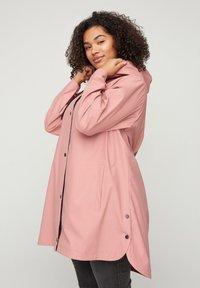 Zizzi - Waterproof jacket - rose - 0