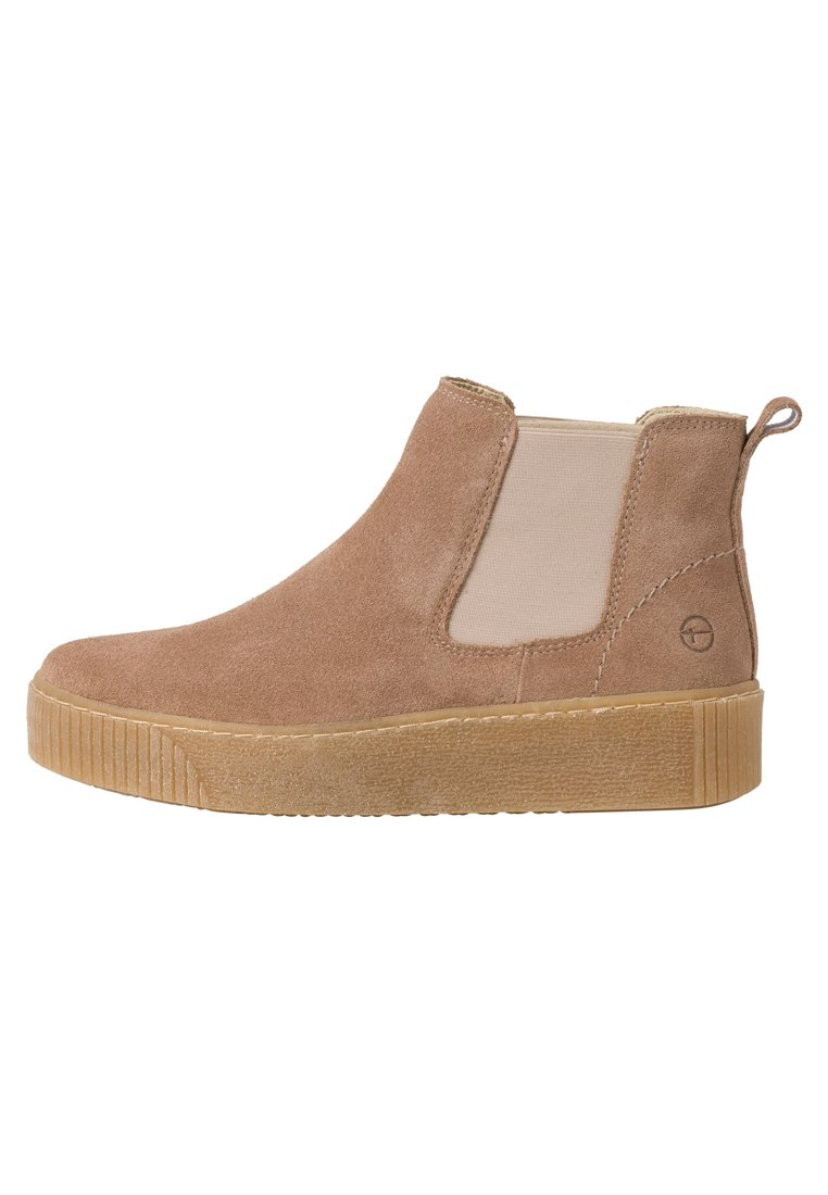 Tamaris Chelsea Boot - Stiefelette Brown/taupe