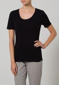Schiesser - Undershirt - black - 1