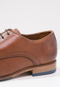 Salamander - STEEL - Smart lace-ups - cognac - 5