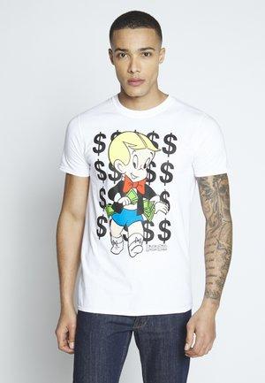 RICHIE RICH TEE - Print T-shirt - white