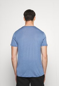 Houdini - TREE MESSAGE TEE - T-shirt print - blue - 2