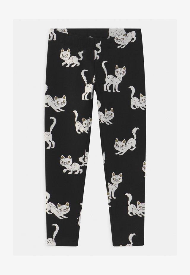 MINI HALLOWEEN - Leggings - Trousers - black