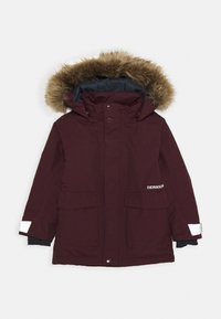 Didriksons - KURE KIDS PARKA - Winter coat - plum - 0