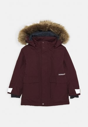 KURE KIDS PARKA - Wintermantel - plum