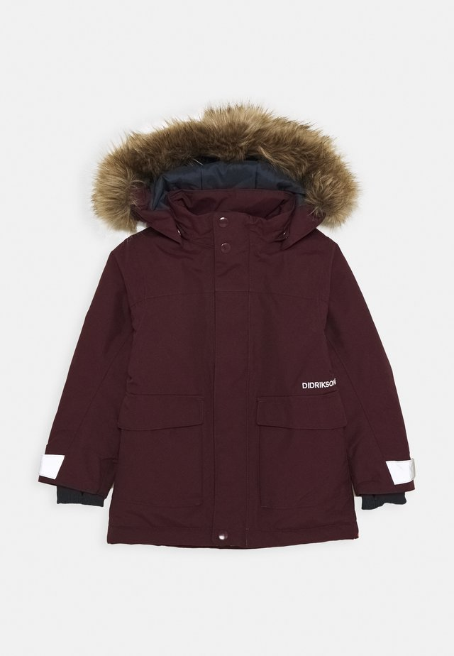 KURE KIDS PARKA - Winter coat - plum