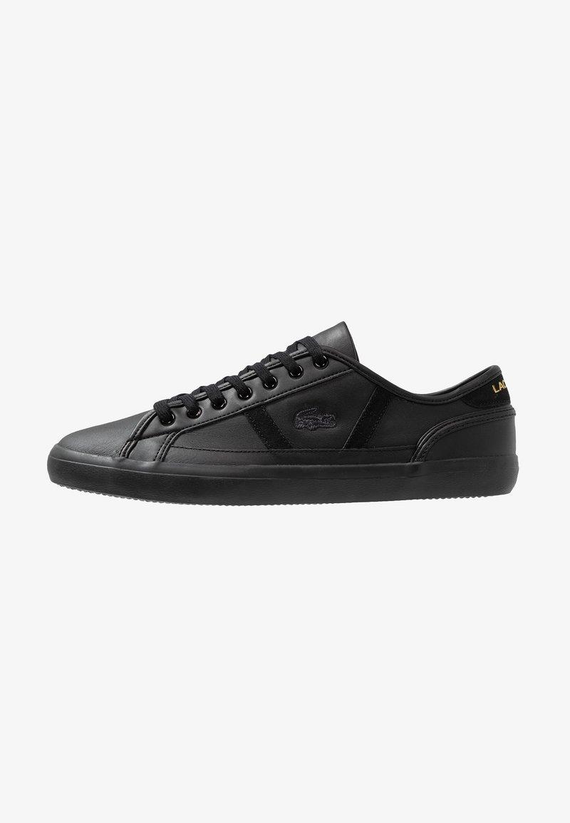 Lacoste - SIDELINE - Sneakers basse - black/gold