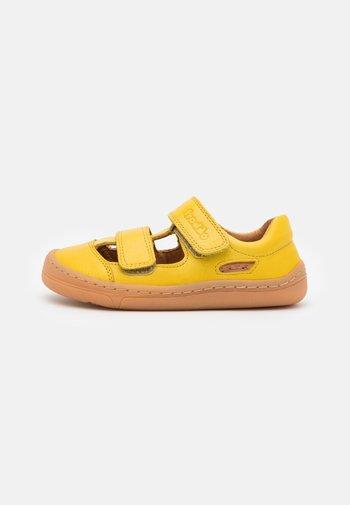 BAREFOOT UNISEX - Sandals - yellow