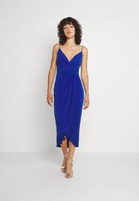 Trendyol - Jersey dress - royal blue - 5