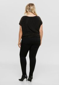 ONLY Carmakoma - CARGLORIA 4EVER - Jeans Skinny Fit - black - 2