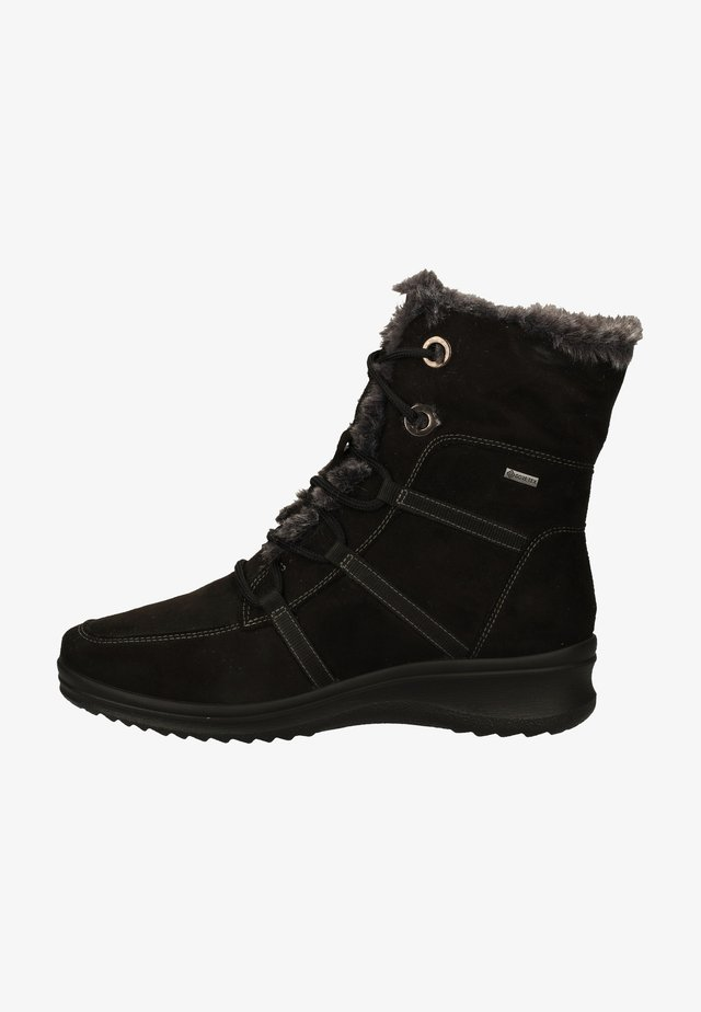 Vinterstøvler - schwarz/graphit