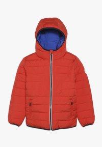 Superdry - REVERSIBLE FUJI - Winter jacket - fire orange/cobalt - 1
