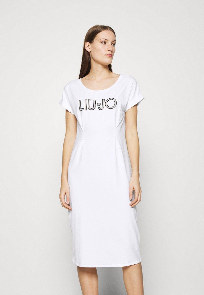 Liu Jo Jeans - ABITO - Žerzejové šaty - bianco