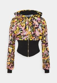 Versace Jeans Couture - veste en sweat zippée - black - 0