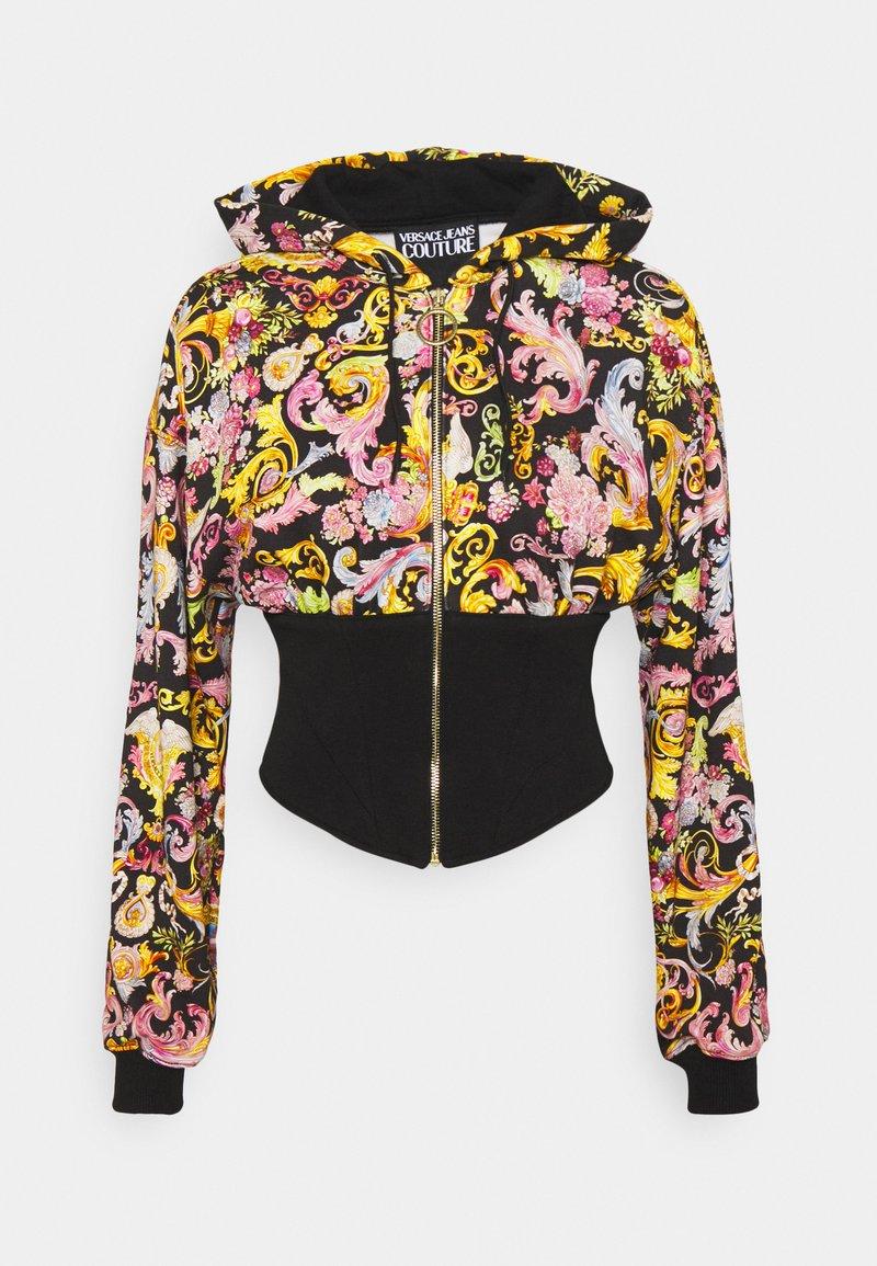 Versace Jeans Couture - veste en sweat zippée - black