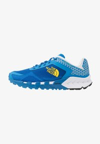 The North Face - FLIGHT TRINITY  - Trail running shoes - clear lake blue/black - 0