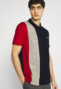 Lacoste - Poloshirt - marine/naturel clair/rouge - 3