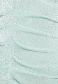 Closet - PLEATED FRONT PENCIL DRESS - Shift dress - mint - 5