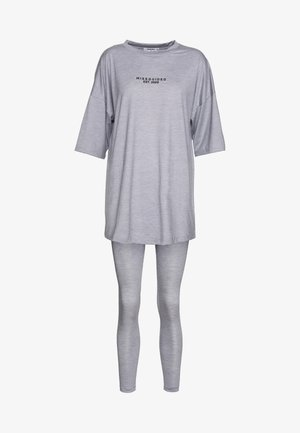 FULL LENGTH OVERSIZED SET - Legíny - grey