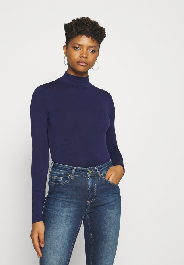 DORSIA - Long sleeved top - evening blue