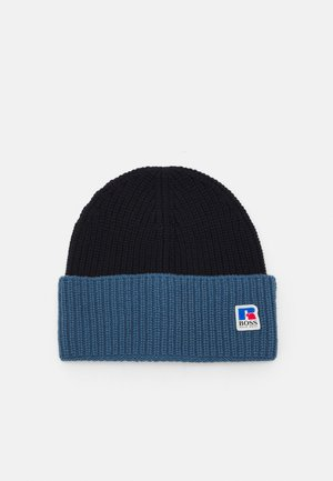 Boss x Russell Athletic HATS - Beanie - navy