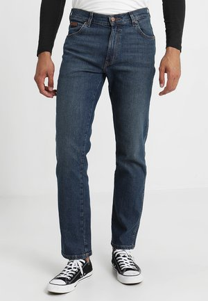 TEXAS - Straight leg jeans - indigo wit
