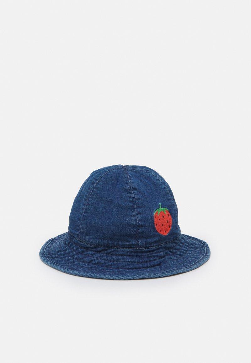 Mini Rodini - STRAWBERRY SUN HAT - Hat - blue