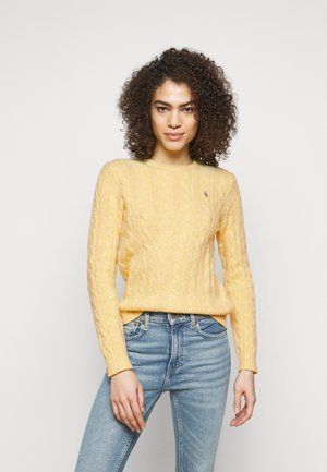 LONG SLEEVE - Neule - light yellow ragg