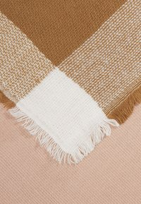 ONLY - ONLALDINI SQUARE SCARF  - Foulard - misty rose/cloud dancer/toasted - 2