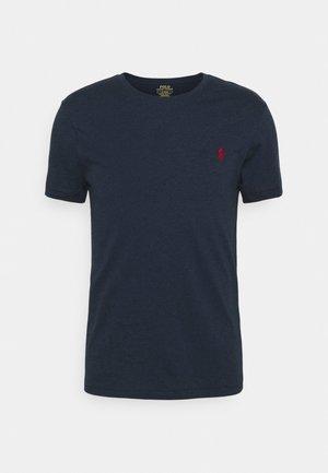 CUSTOM SLIM FIT CREWNECK - T-shirt basique - medieval blue heather