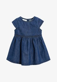 Next - Denim dress - dark blue - 0