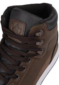 K1X - Sneakers hoog - brown - 6