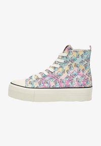 PULL&BEAR - Baskets montantes - multi coloured - 1