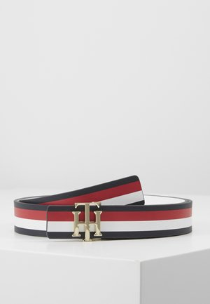 REVERSIBLE - Belt - blue