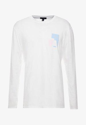 CUFF TEE - Långärmad tröja - white