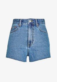 SKYE - Denim shorts - retro sky blue