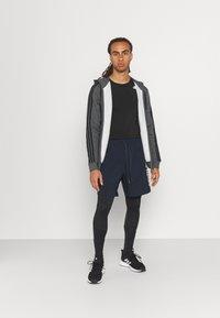 adidas Performance - LONG TECHFIT PRIMEGREEN SPORTS LEGGINGS - Tights - black - 1