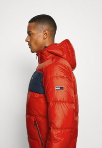 Tommy Jeans - COLORBLOCK PADDED JACKET - Kurtka zimowa - deep crimson - 4