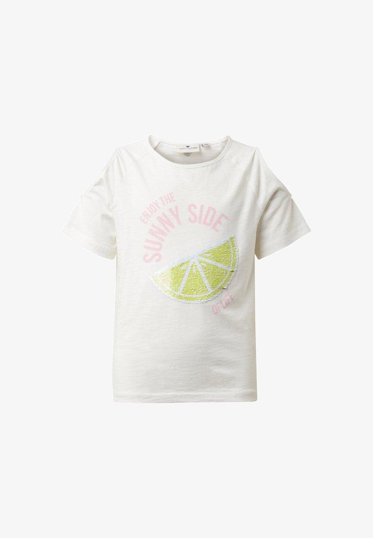 TOM TAILOR - T-shirt print - white
