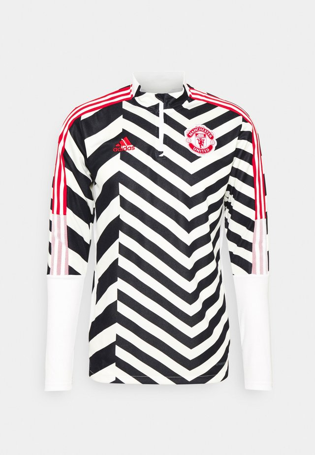 MANCHESTER UNITED  - Fanartikel - white/black